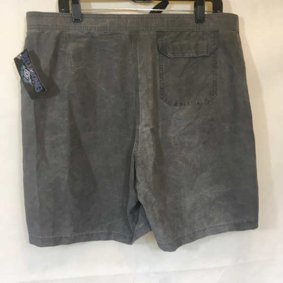 Mens NWT VTG 90's Gray Billabong Board Shorts